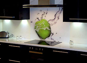 Digital Print & Custom Glass Splashbacks | Sprayed Splashbacks