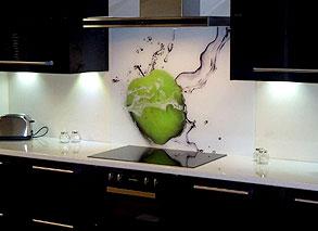 Digital Print Amp Custom Glass Splashbacks Sprayed Splashbacks